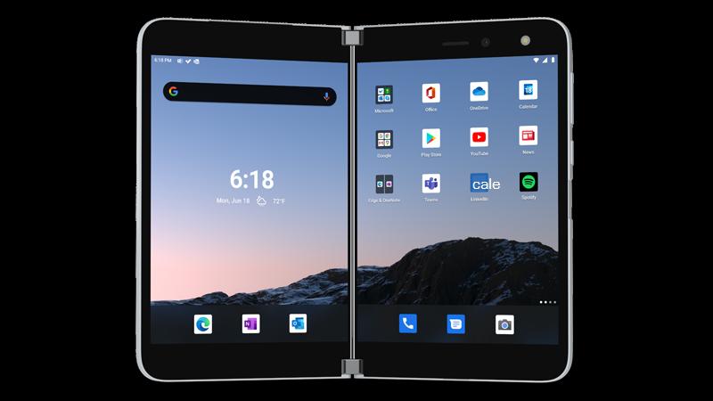 Obraz urządzenia Surface Duo