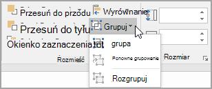 Wybieranie grupy
