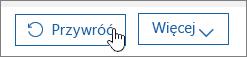 Przywracanie użytkownika w usłudze Office 365.