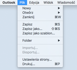 Wyłączanie elementów menu importowania/eksportowania przy użyciu nowej opcji zarządzania dla administratorów