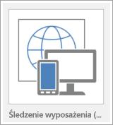 Przycisk szablonu aplikacji sieci Web programu Access
