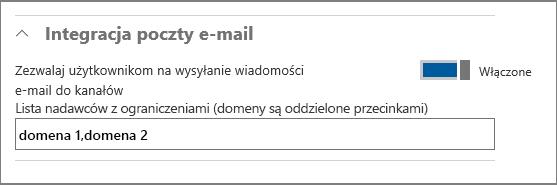Integracja poczty e-mail