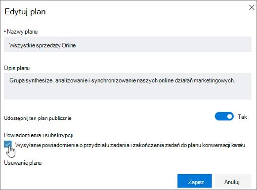 Powiadomienia ClickSend, aby otrzymywać wiadomości e-mail o przydziału zadania i zakończenia zadań