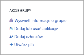 Wyświetl link do informacji o grupie