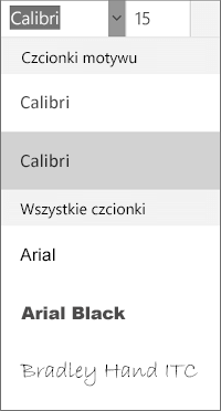Czcionki