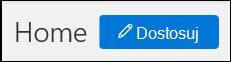 Zrzut ekranu przedstawiający przycisk Dostosuj na stronie głównej zabezpieczeń i Centrum zgodności