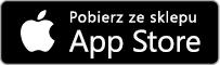Przycisk sklepu Apple App Store