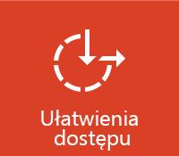 Ułatwienia dostępu pakietu Office