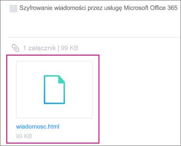 Przeglądarka OME z Yahoo Mail na Android 1