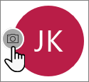 Wybierz ikonę aparatu, aby dodać zdjęcie