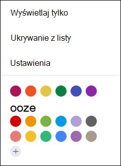 Wybierz ustawienia z kalendarza Google.
