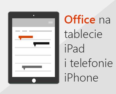 Kliknij, aby skonfigurować aplikacje pakietu Office w systemie iOS