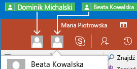 Funkcja współpracy w czasie rzeczywistym w aplikacji PowerPoint dla systemu Android