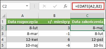szybkie połączenie daty