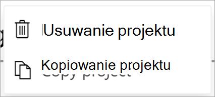 Umożliwia wyświetlanie plików programu Project
