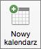 Przycisk Nowy kalendarz w programie Outlook 2016 dla komputerów Mac