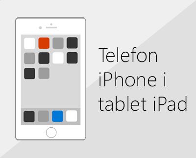 Kliknij w celu skonfigurowania pakietu Office i poczty e-mail na urządzeniach z systemem iOS