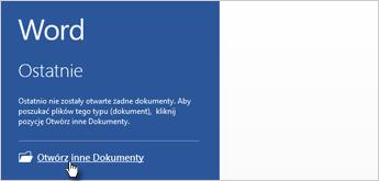 Otwórz inne dokumenty