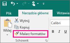 Przycisk Malarz formatów w programie Publisher