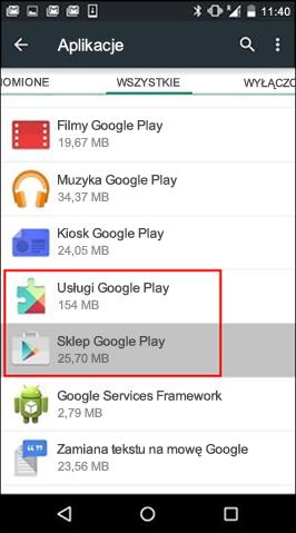 Rozwiązywanie Błędów Z Instalacją Aplikacji W Sklepie Google Play
