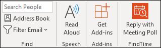 FindTime > odpowiadanie za pomocą ankiety spotkania