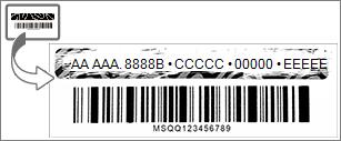 Zdrap foliową powłokę, aby odsłonić klucz produktu pakietu Office