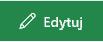 Zrzut ekranu przedstawiający przycisk Edytuj link w programie SharePoint.