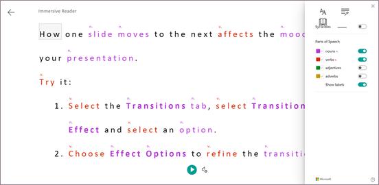 Preferencje dotyczące gramatyki