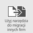 Migrowanie skrzynek pocztowych do usługi Office 365 za pomocą narzędzi do migracji innego producenta
