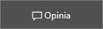 Zrzut ekranu: klikanie widżetu opinii o witrynie Business Center w celu pozostawienia opinii