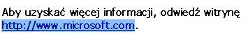 Zaznaczony adres internetowy