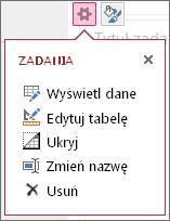 Edytuj tabelę