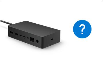 Urządzenie Surface Hub i znak zapytania