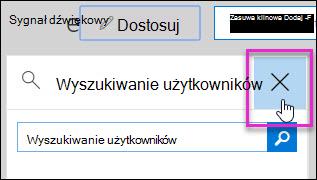 Zrzut ekranu przedstawiający usuwanie widżetu z zabezpieczeń i Centrum zgodności