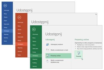 Współpraca w innych aplikacjach usługi Office 365