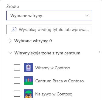 Wybieranie witryn