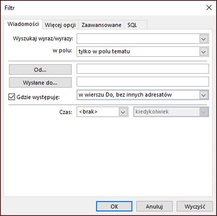 Wybierz pozycję Dodaj, aby utworzyć nowa reguła formatowania warunkowego.