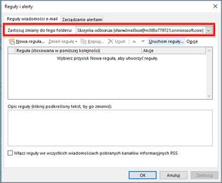 Reguła systemu Windows