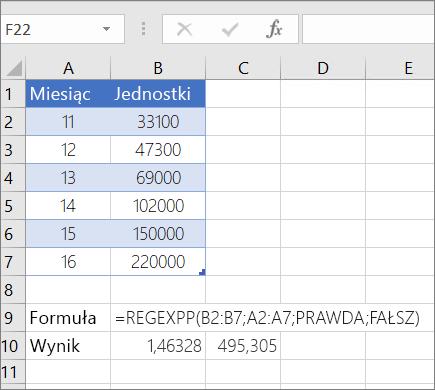 Przykład 1--funkcja REGEXPP