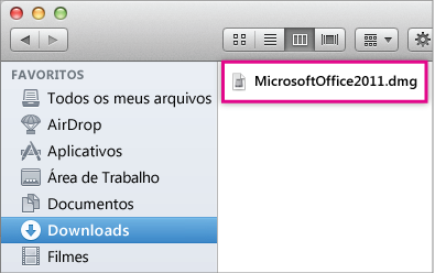 Abrir o Instalador do Office