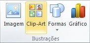 Inserir clip-art