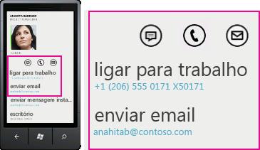 Lync para clientes móveis