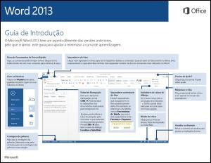 Guia de Introdução do Word 2013