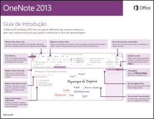 Guia de Introdução do OneNote 2013