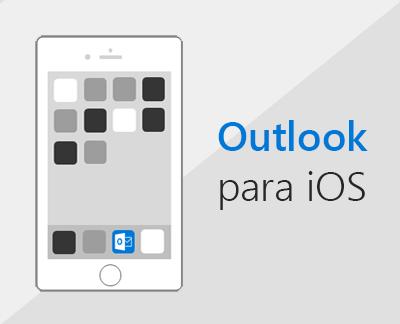 Clique para configurar o Outlook para iOS