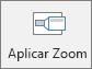 Mostra o botão Zoom na guia Inserir no PowerPoint.