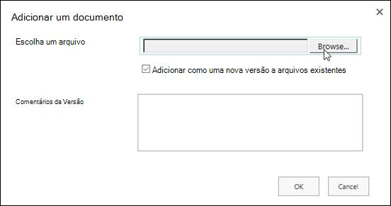 Selecionando um logotipo no Windows Explorer