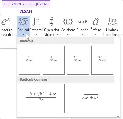 Estruturas matemáticas radicais