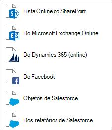 Obter dados de serviços Online
