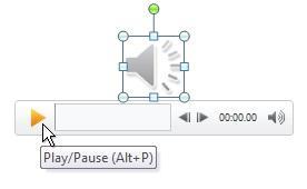 Reproduzir o clipe de áudio